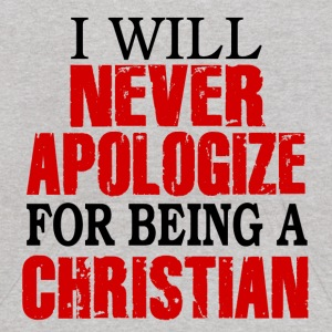 I Will Never Apologize For Being A Christian Sweatshirts - Kids' Hoodie