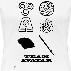 Avatar the Last Airbender: Team Avatar Women's T-Shirts - Women's Premium T-Shirt