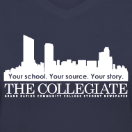 Design ~ Collegiate Women's V-neck Light