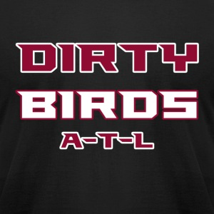 Dirty Birds - Men's T-Shirt by American Apparel