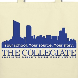 GRCC Collegiate logo Bags & backpacks - Eco-Friendly Cotton Tote