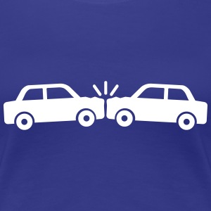 Car crash Women's T-Shirts - Women's Premium T-Shirt