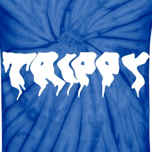 TRIPPY in blue - Unisex Tie Dye T-Shirt