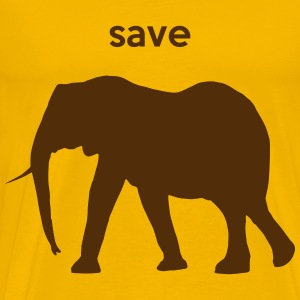 save elephants T-Shirts - Men's Premium T-Shirt