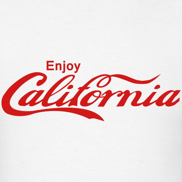 Enjoy California - Men's T-Shirt