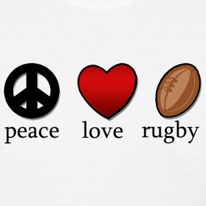 Peace Love Rugby T-Shirt - Women's T-Shirt