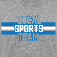 Design ~ Local Sports Team shirt blue