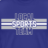 Design ~ Local Sports Team shirt grey