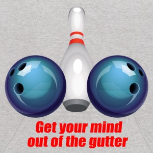 Get Your Mind Out Of The Gutter Sweatshirts - Kids' Hoodie