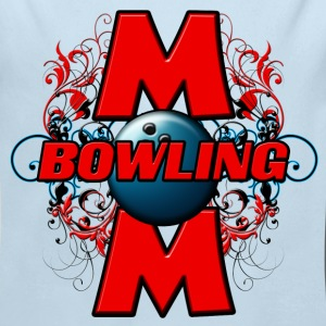 Bowling Mom (C) Baby & Toddler Shirts - Long Sleeve Baby Bodysuit