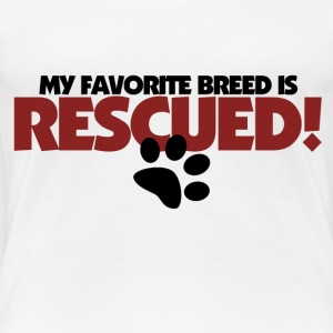 Rescue Dogs are awesome - Women's Premium T-Shirt