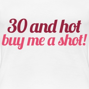 30th birthday party - Women's Premium T-Shirt