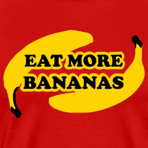 Eat more bananas T-Shirts - Men's Premium T-Shirt