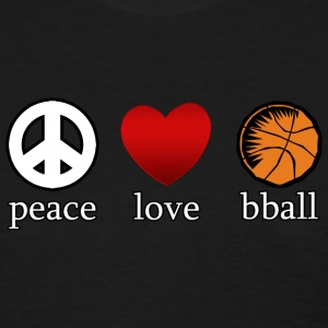 Peace Love Basketball T-Shirt - Women's T-Shirt