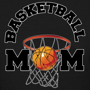 Basketball Mom Dark T-Shirt - Women's T-Shirt