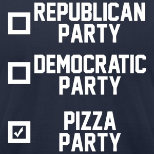 Pizza Party T-Shirts - Men's T-Shirt by American Apparel