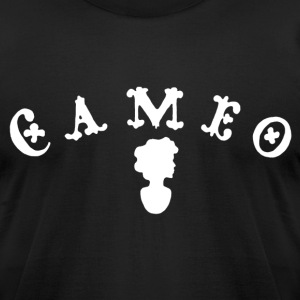 Cameo Records black tee - Men's T-Shirt by American Apparel