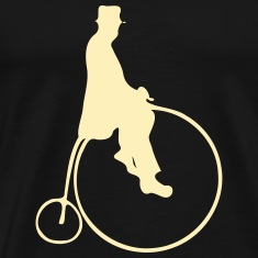 Penny Farthing With Rider T-Shirts