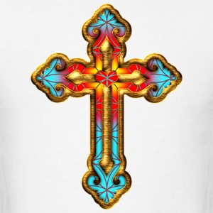 Cross Christian Church Jesus God Religious Belief T-Shirts - Men's T-Shirt