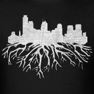 Philadelphia Skyline Roots T-Shirts - Men's T-Shirt