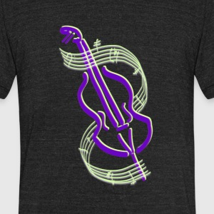 Cello Design - Unisex Tri-Blend T-Shirt by American Apparel