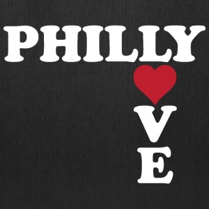 Philly Love Cute Heart  Bags & backpacks - Tote Bag
