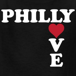 Philly Love Cute Heart  Kids' Shirts - Kids' T-Shirt