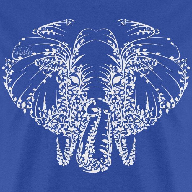 Elephant White Shirt Mens