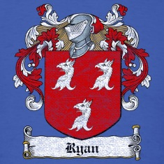 Ryan Family Crest T-Shirts