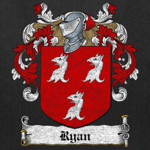 Ryan Family Crest Bags & backpacks - Tote Bag