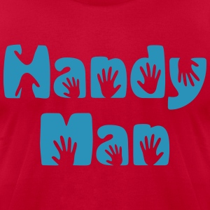 Handy Man  T-Shirts - Men's T-Shirt by American Apparel