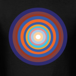 Orange and Blue - Men's T-Shirt