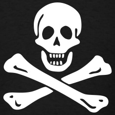Jolly roger Pirate flag T-Shirts