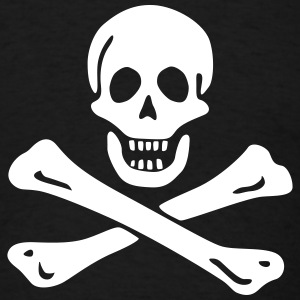 Jolly roger Pirate flag T-Shirts - Men's T-Shirt