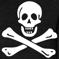 Jolly roger pirate Sweats zippés et vestes