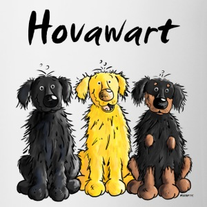 Hovawart – Hovi – Dog – Shirt Design Bottles & Mugs - Contrast Coffee Mug