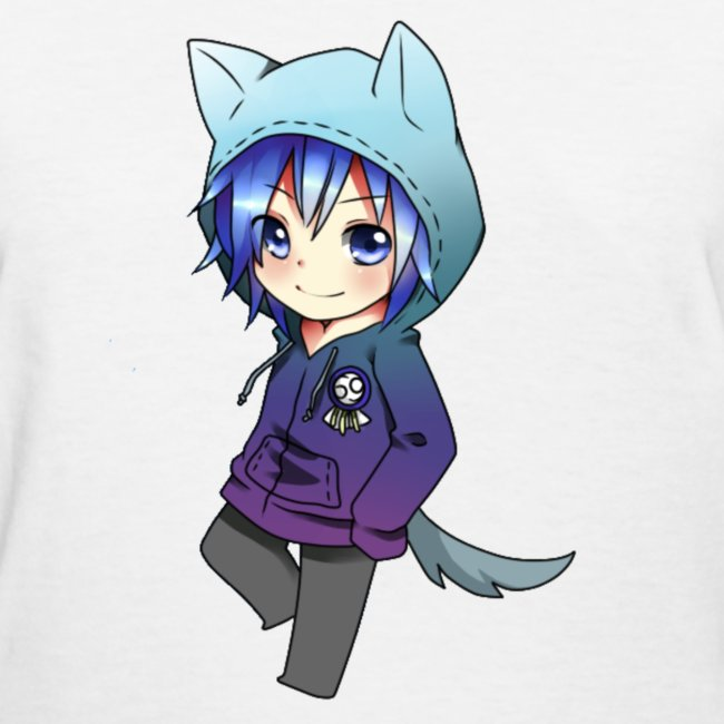 Anime heavan clothing anime fashion wolf boy womens - Wolf girl anime pictures ...