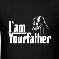 SKYF-01-030 Darth Vader iam your father T-Shirts