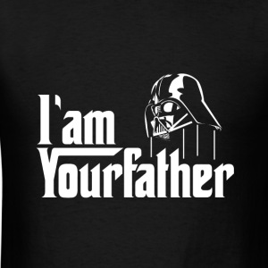 SKYF-01-030 Darth Vader iam your father T-Shirts - Men's T-Shirt
