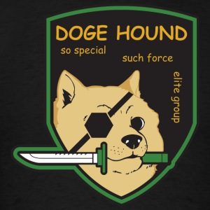 Doge Hound Metal Gear Solid T-Shirts - Men's T-Shirt