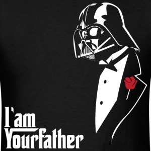 SKYF-01-029 Darth Vader father tuxedo - Men's T-Shirt