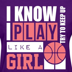 Basketball Girl Women's T-Shirts - Women's T-Shirt