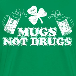 Mugs Not Drugs T-Shirts - Men's Premium T-Shirt