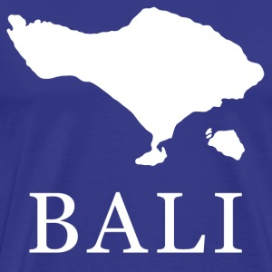 Bali Map T-Shirts - Men's Premium T-Shirt