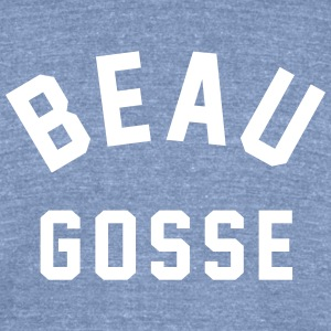Beau Gosse - Unisex Tri-Blend T-Shirt by American Apparel
