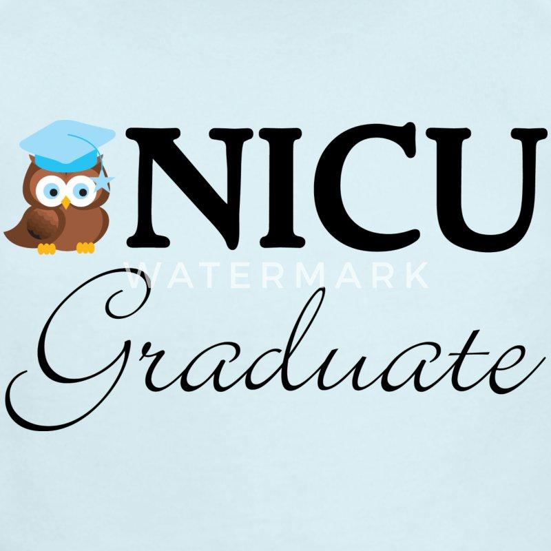 Nicu Graduate Baby Boy One Piece Spreadshirt