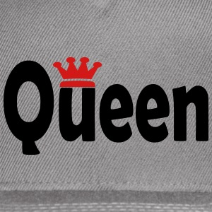 Queen with Crown Graphic Sportswear - Snap-back Baseball Cap