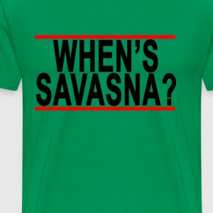 whens_savasana_tshirts_ - Men's Premium T-Shirt