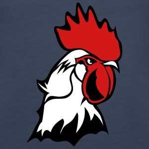 chicken rooster head bascour king Tanks - Women's Premium Tank Top