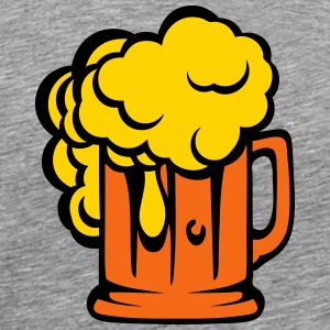 alcohol beer foam binouze 1006 T-Shirts - Men's Premium T-Shirt